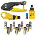 klein coax tools