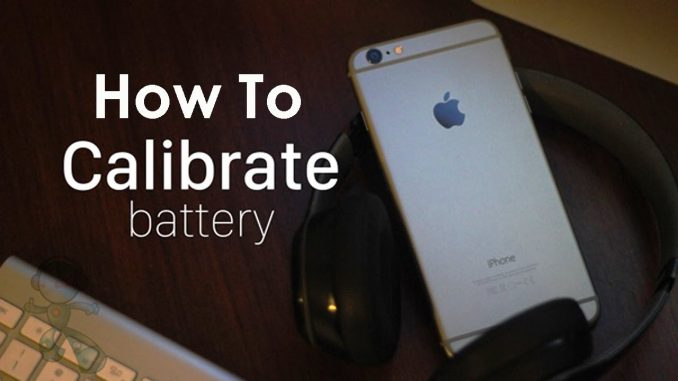 How to Recalibrate the iPhone Battery